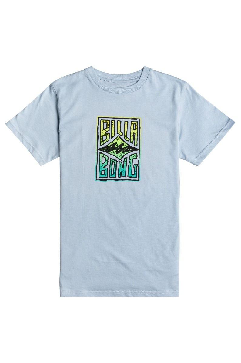 T-Shirt Billabong DOODLE SS BOY Smoke Blue