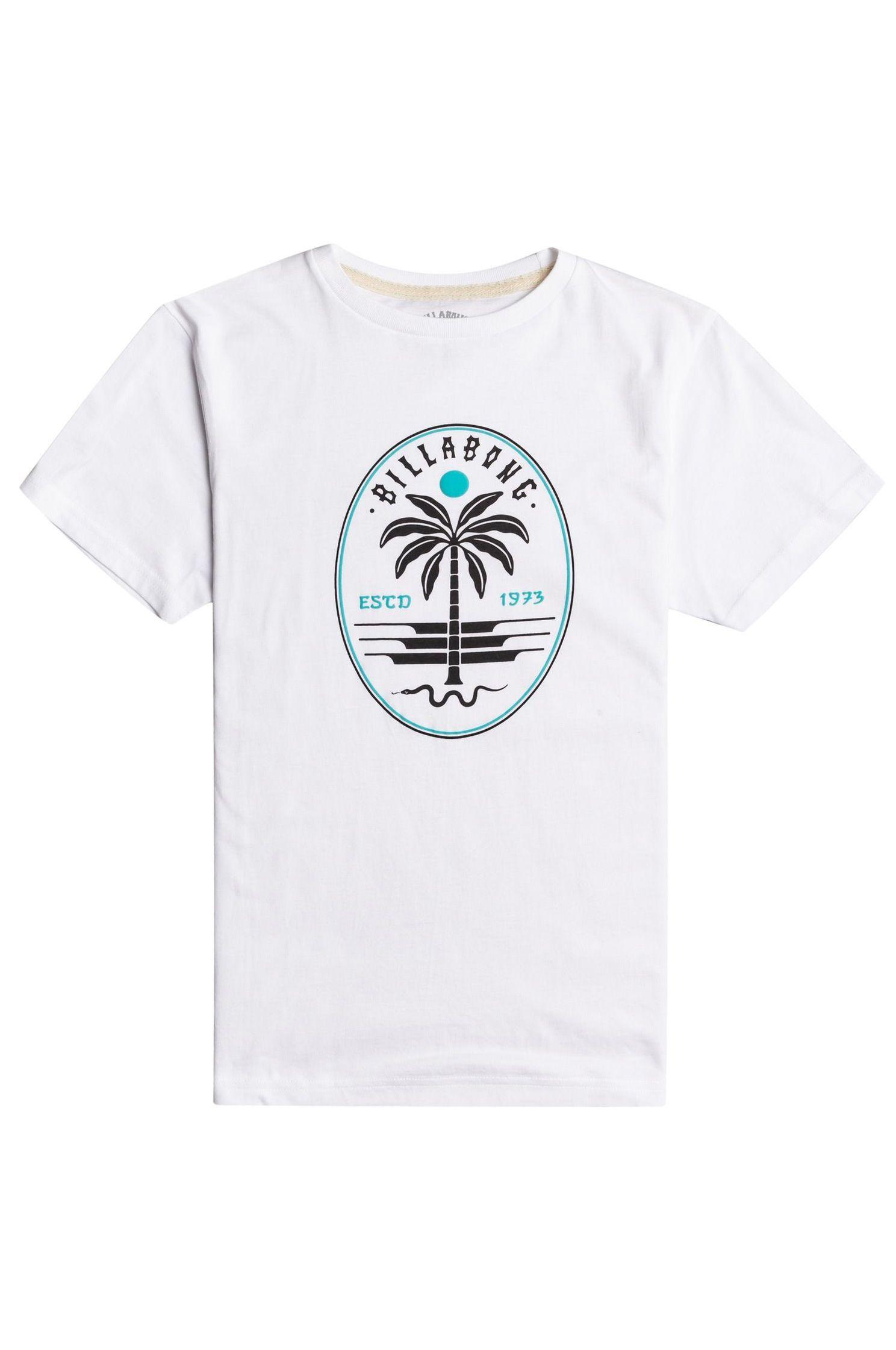 T-Shirt Billabong SNAKE SET SS BOY SPORTING GOOD PROGR. White