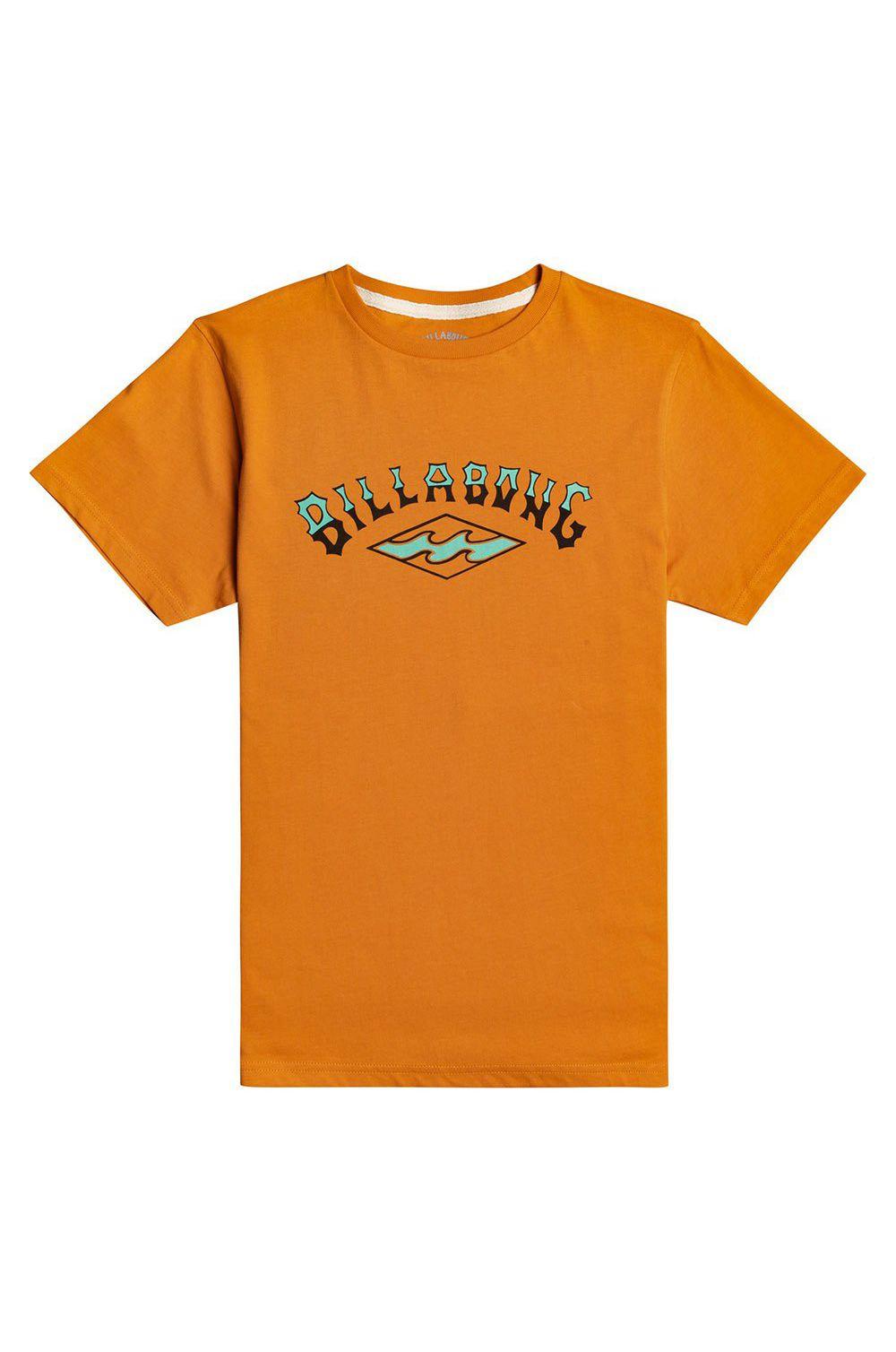 T-Shirt Billabong ARCH SS BOY SPORTING GOOD PROGR. Dusty Orange