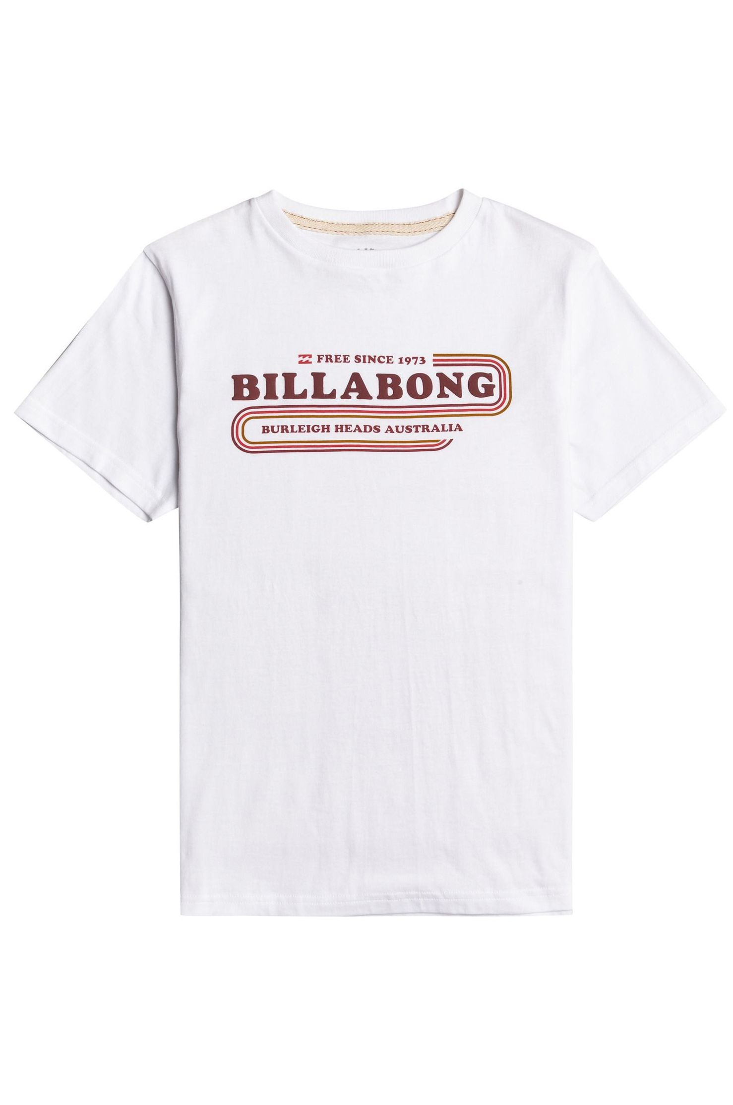 T-Shirt Billabong WAVY SS BOY SPORTING GOOD PROGR. White