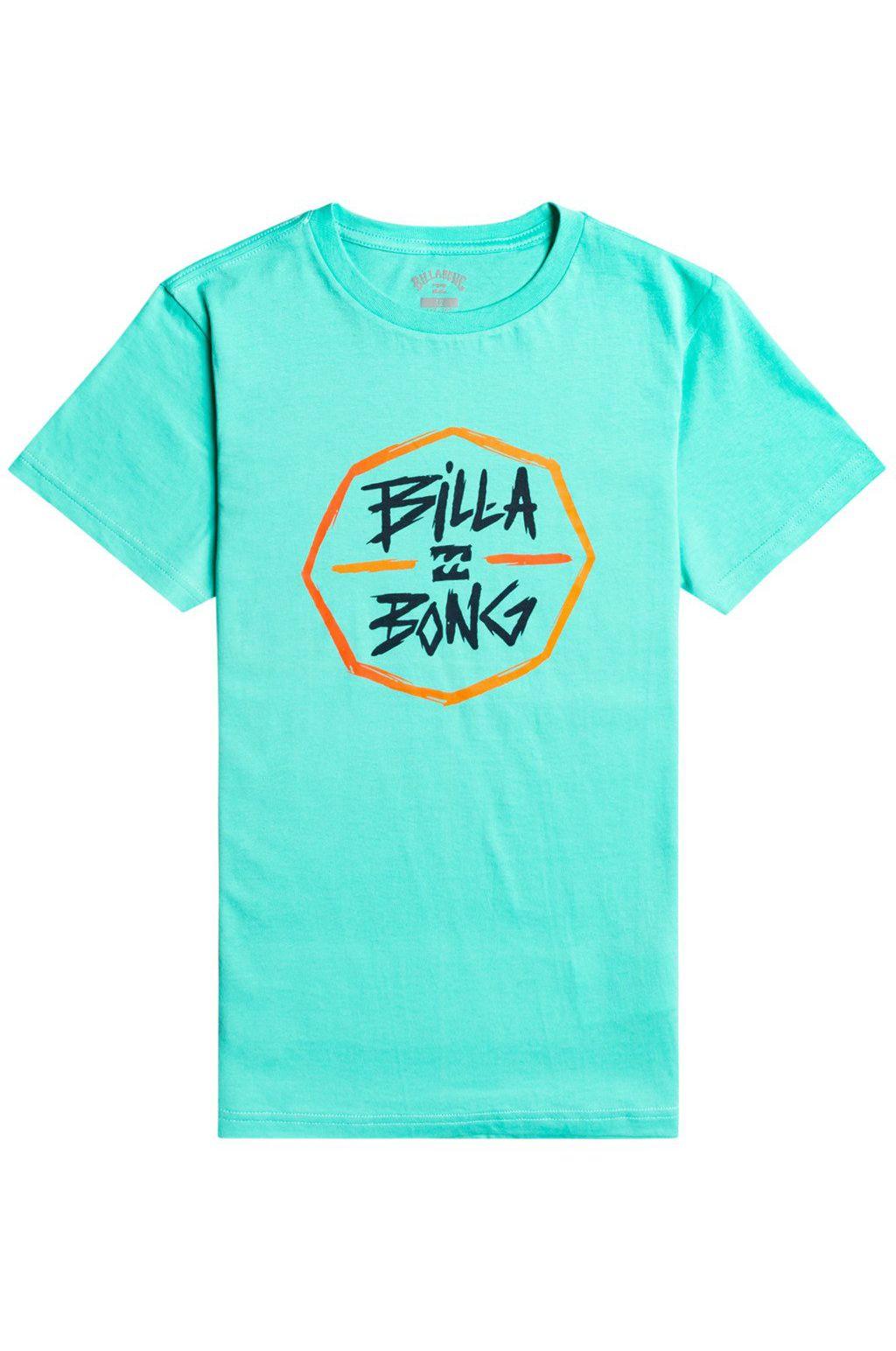 Billabong T-Shirt OCTO SS BOY Light Aqua