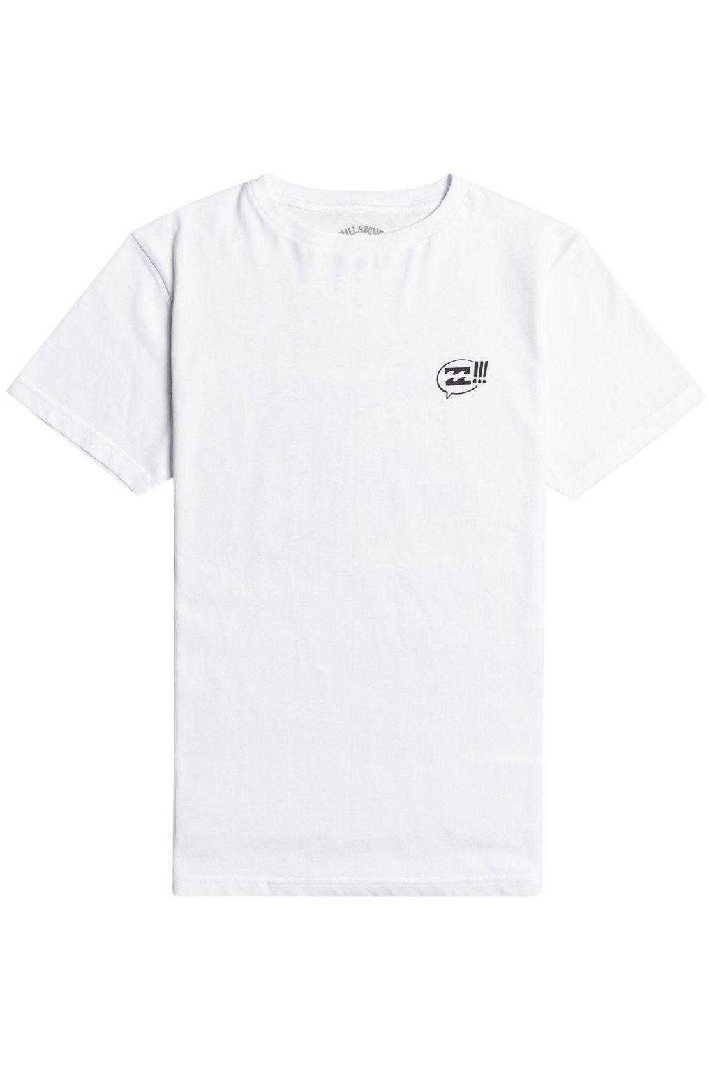 Billabong T-Shirt GET PITTED SS BOY White