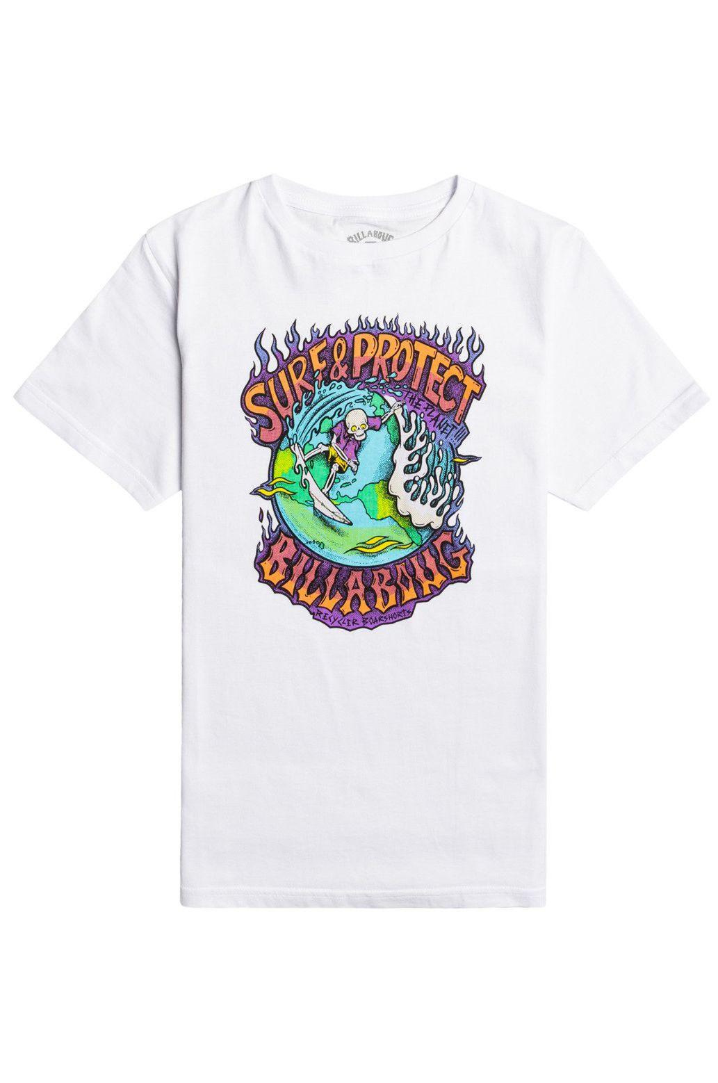 T-Shirt Billabong SURF N PROTECT SS BO White