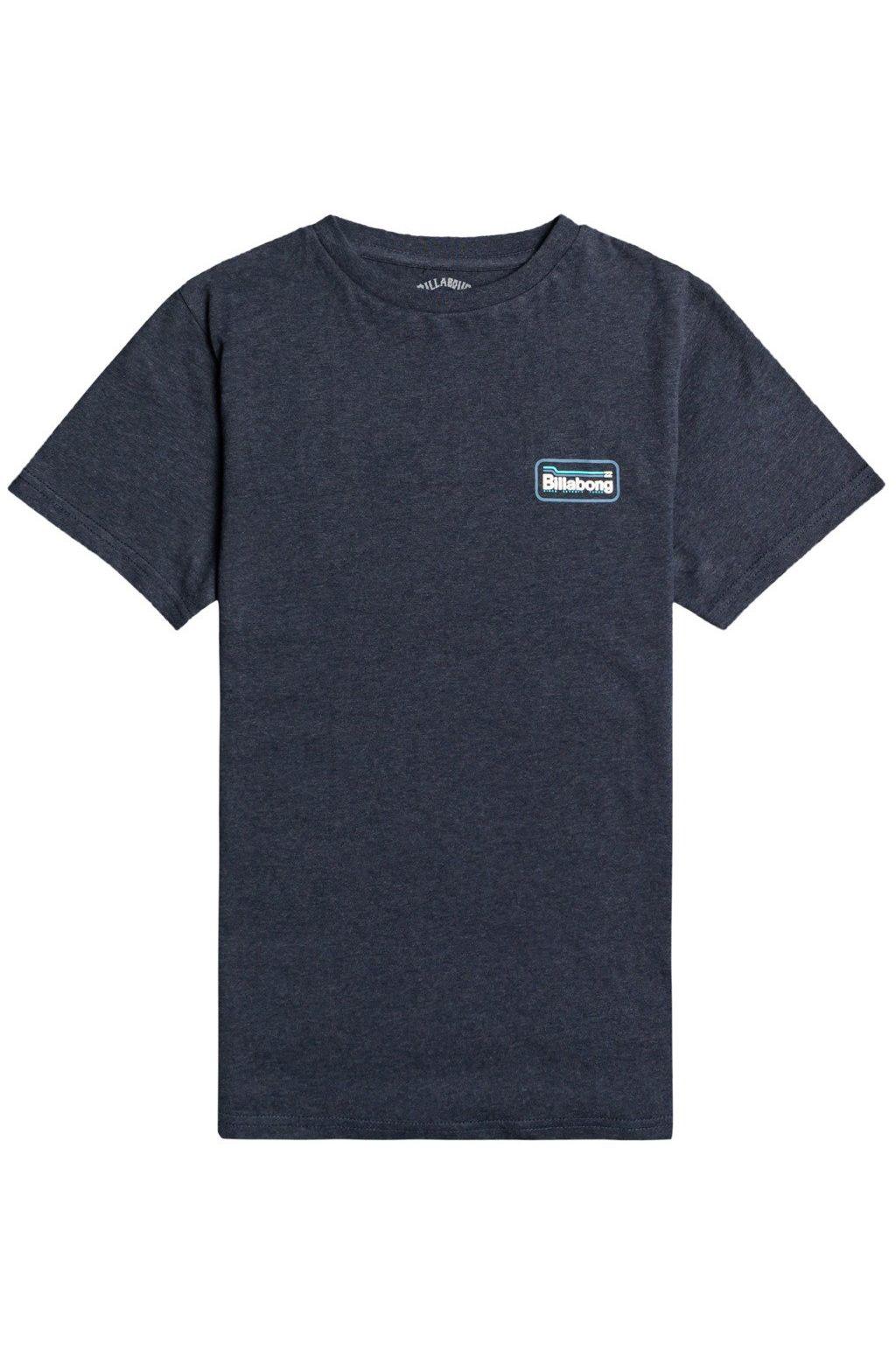Billabong T-Shirt WALLED SS BOY Indigo Heather