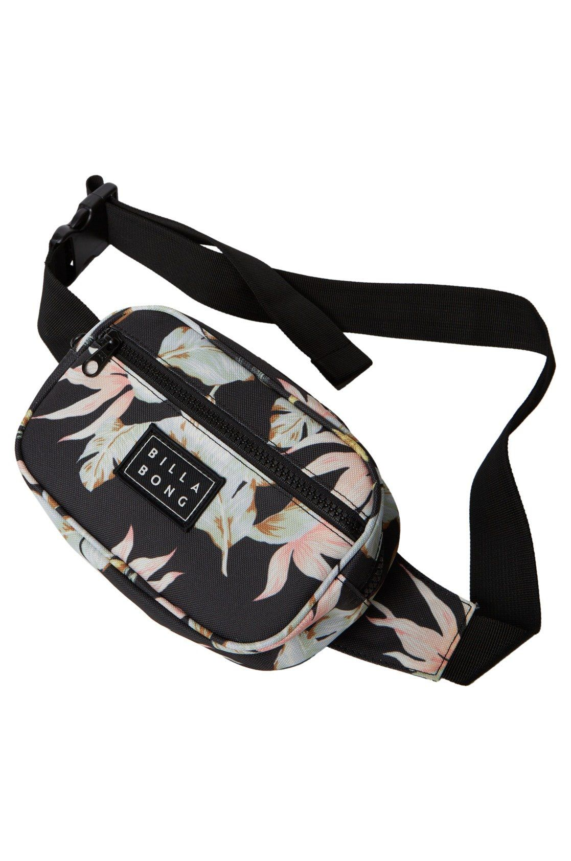 Bolsa Cintura Billabong DON'T STOP Black/Mint