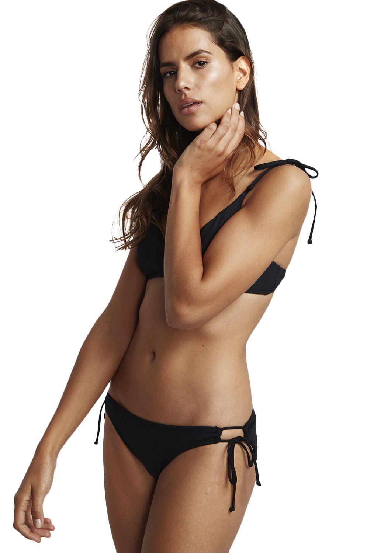 Bikini Tanga Billabong LOW RIDER SOL SEARCHER Black Pebble