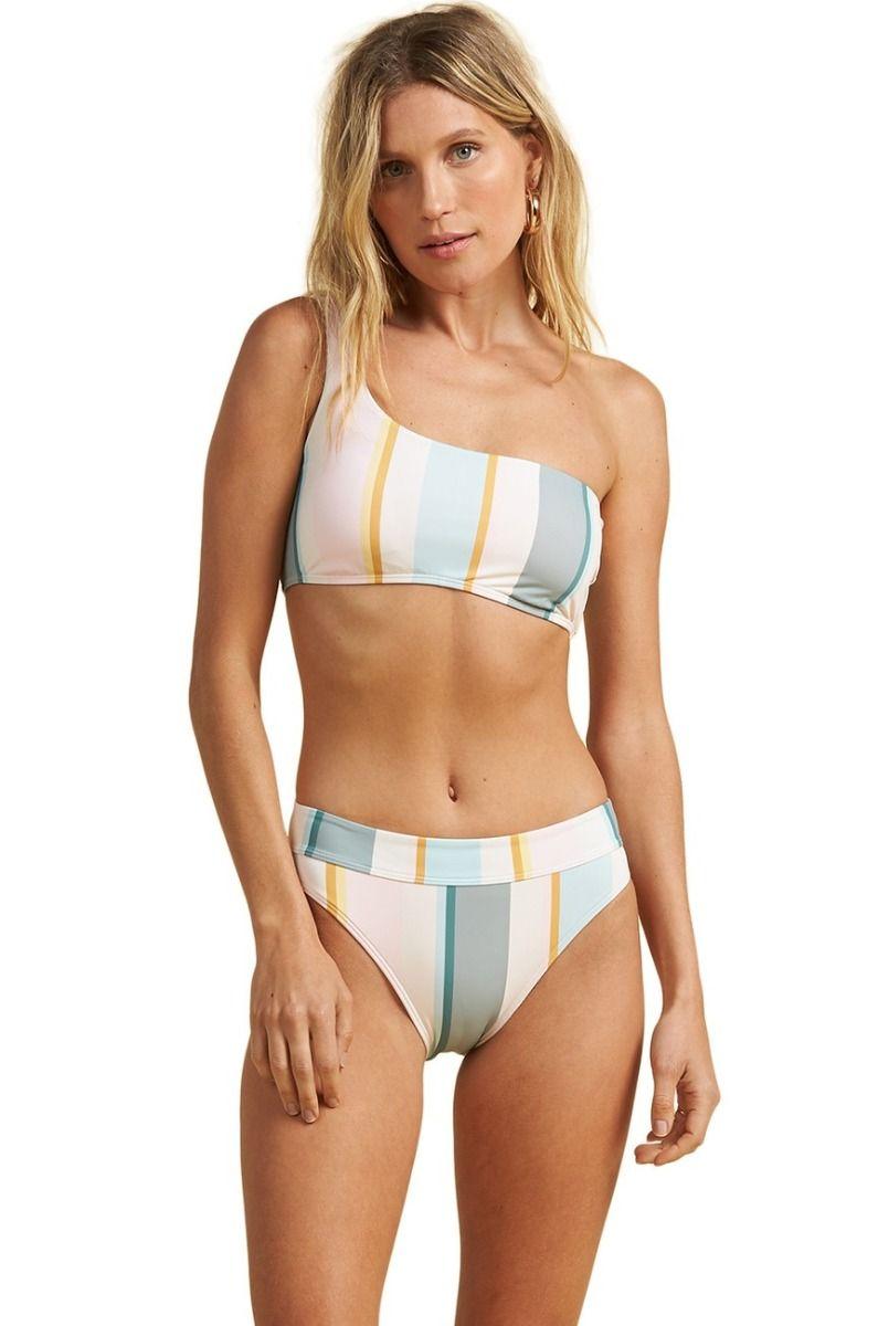 Bikini Top Billabong FEELIN SALTY 1 SHLDR SALTY BLONDE Multi