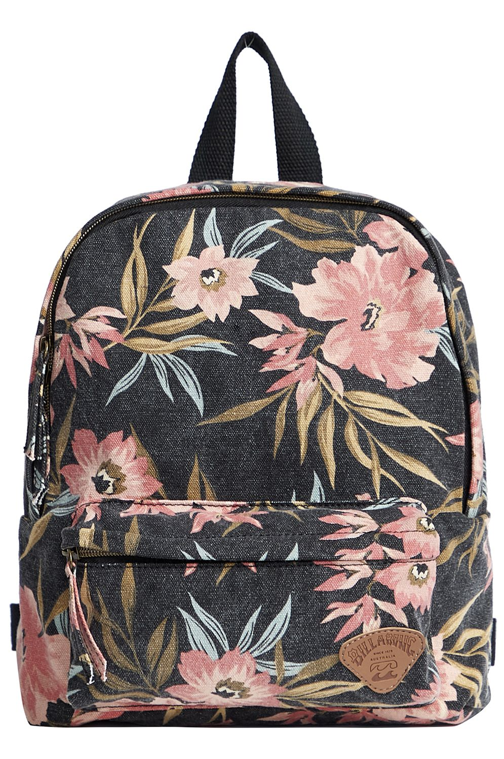 Mochila Billabong MINI MAMA LOST PARADISE Black/Pink