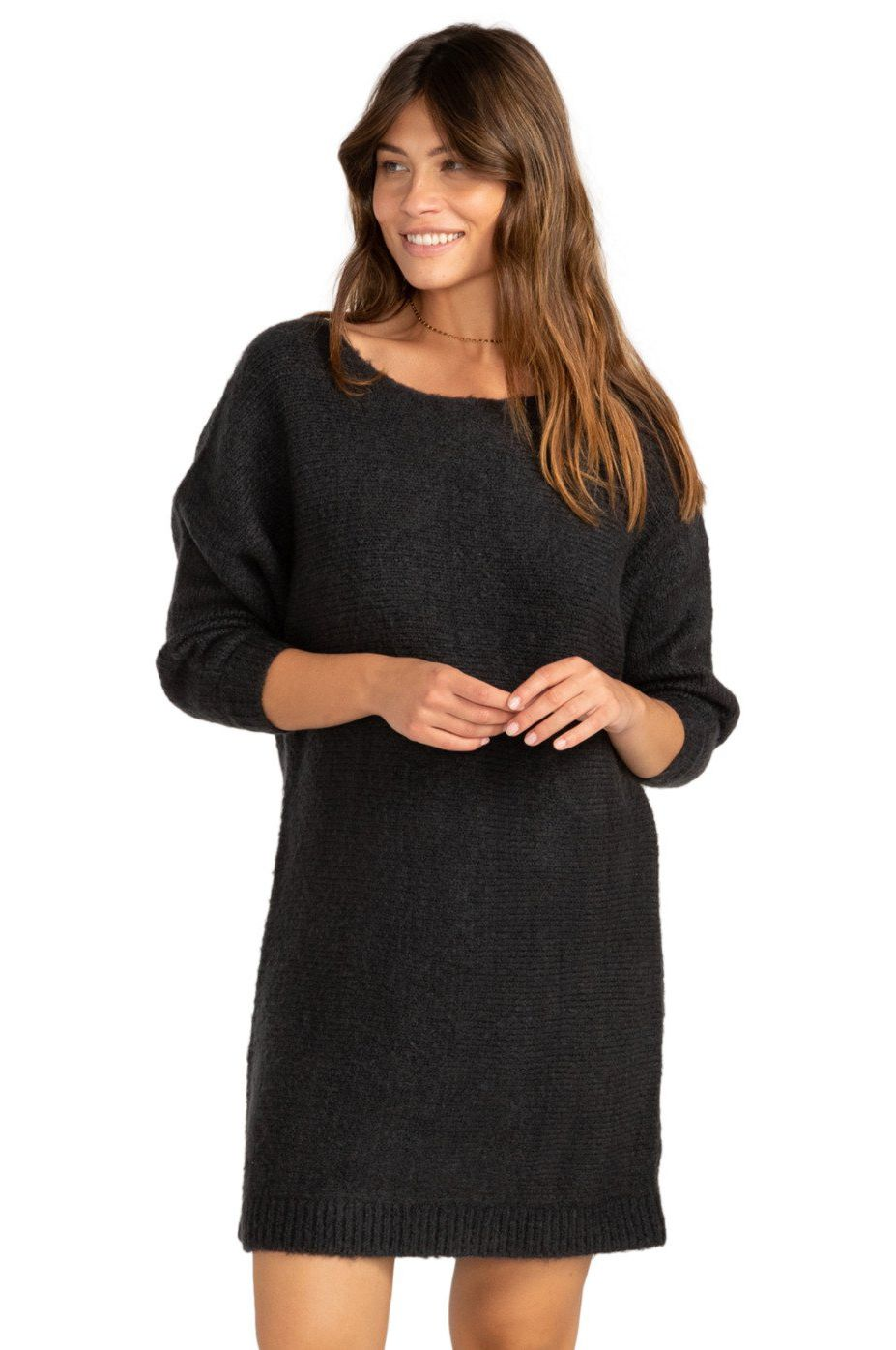 Billabong Dress SWEET SYMPHONY PARADISE FOUND Off Black