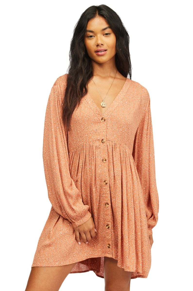 Billabong Dress ON THE WAY PARADISE FOUND Coconut