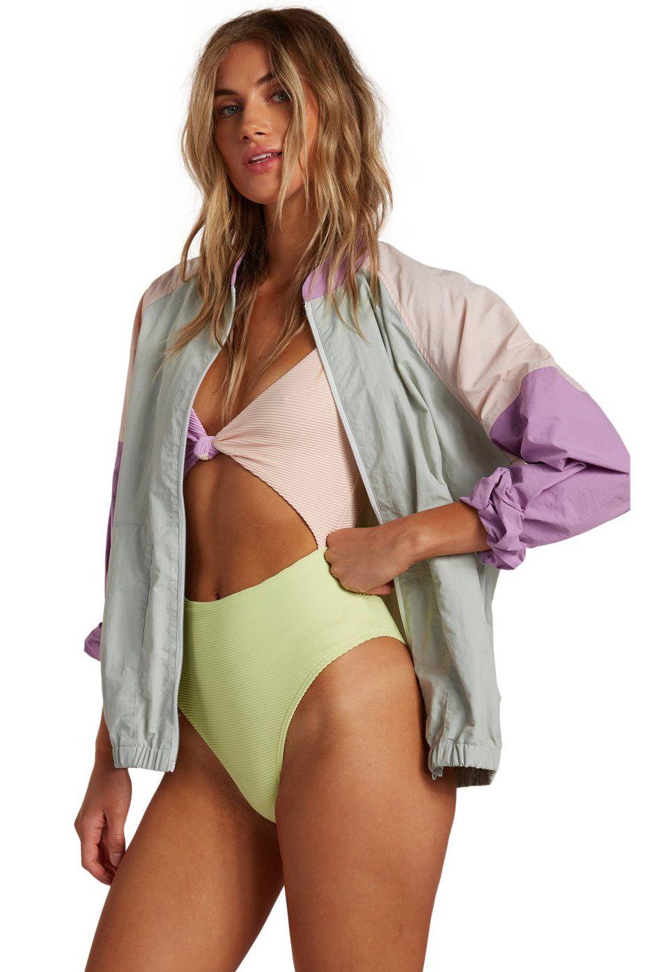 Billabong Jacket WHIRLWIND SURFADELIC Aqua