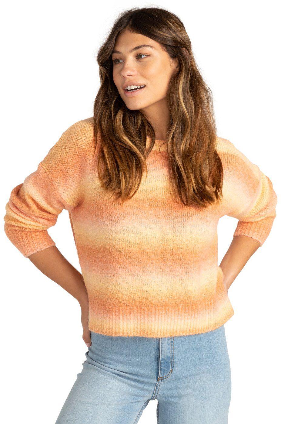 Billabong Sweater OVER THE RAINBOW PARADISE FOUND Caramel