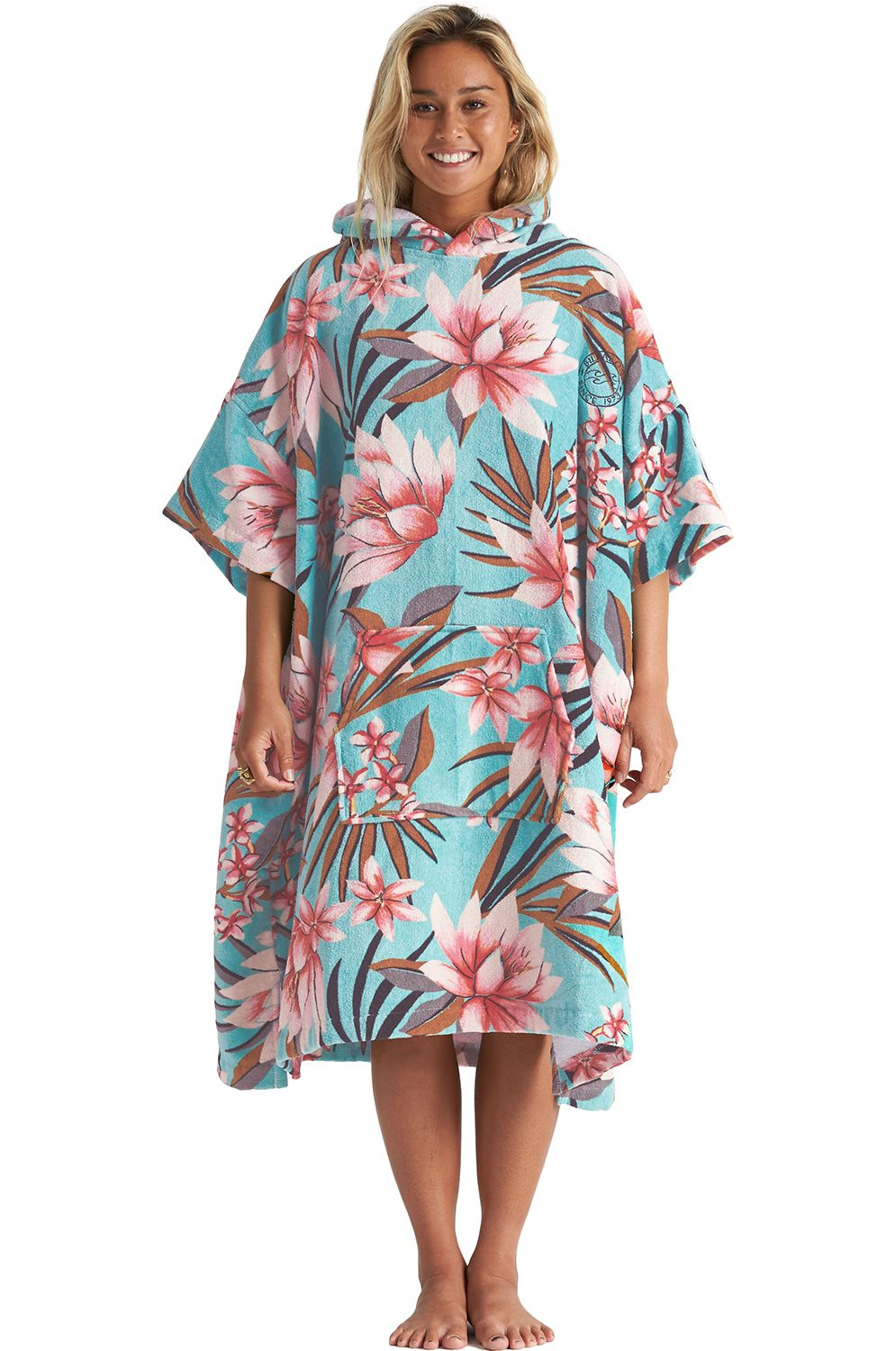 Poncho Billabong HOODED TOWEL Waterfall