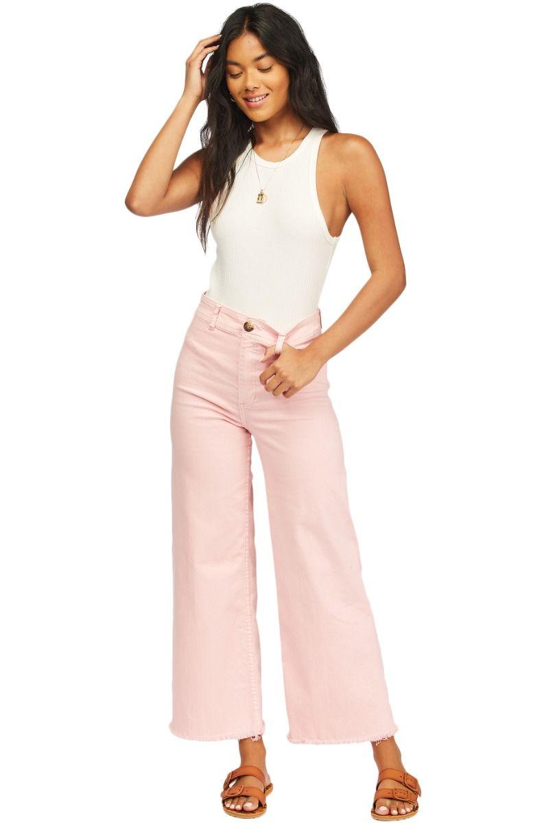 Calças Ganga Billabong FREE FALL COASTAL LOVE LETTERS Tickled Pink
