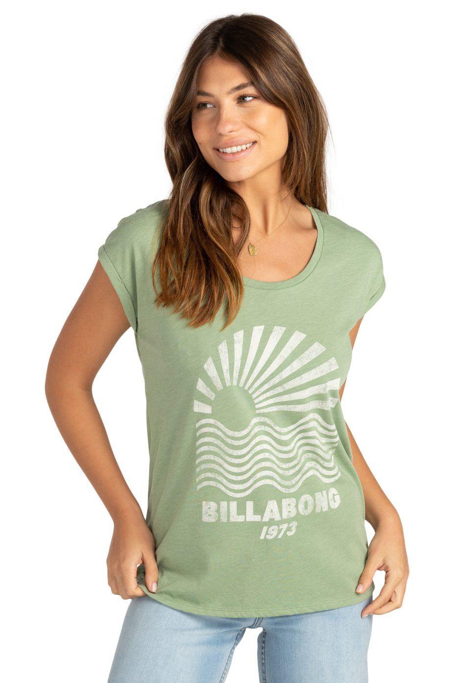 Billabong T-Shirt SOLO SOL Safari Green