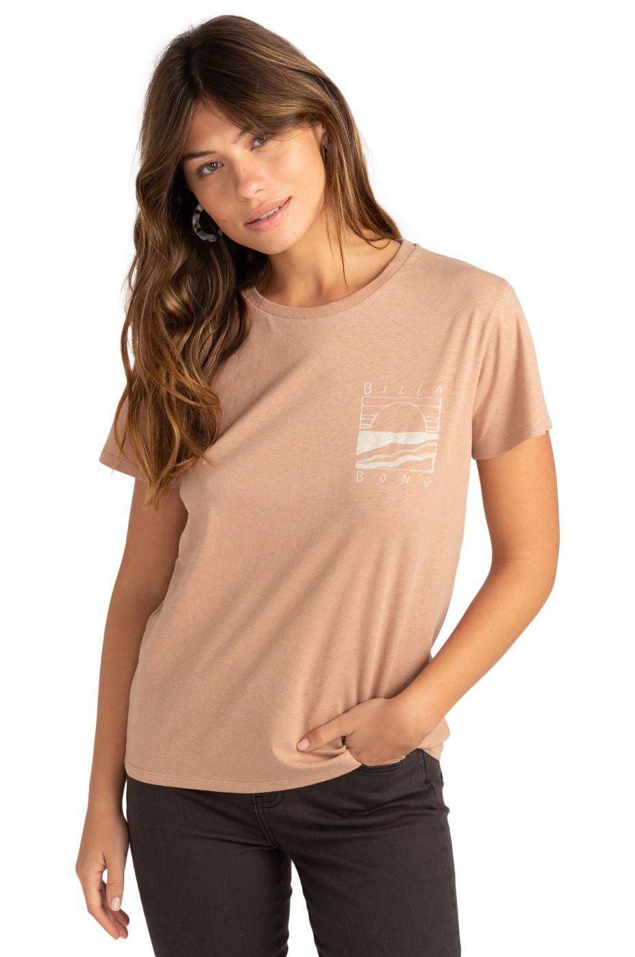 Billabong T-Shirt ISLAND DAYS Warm Sand