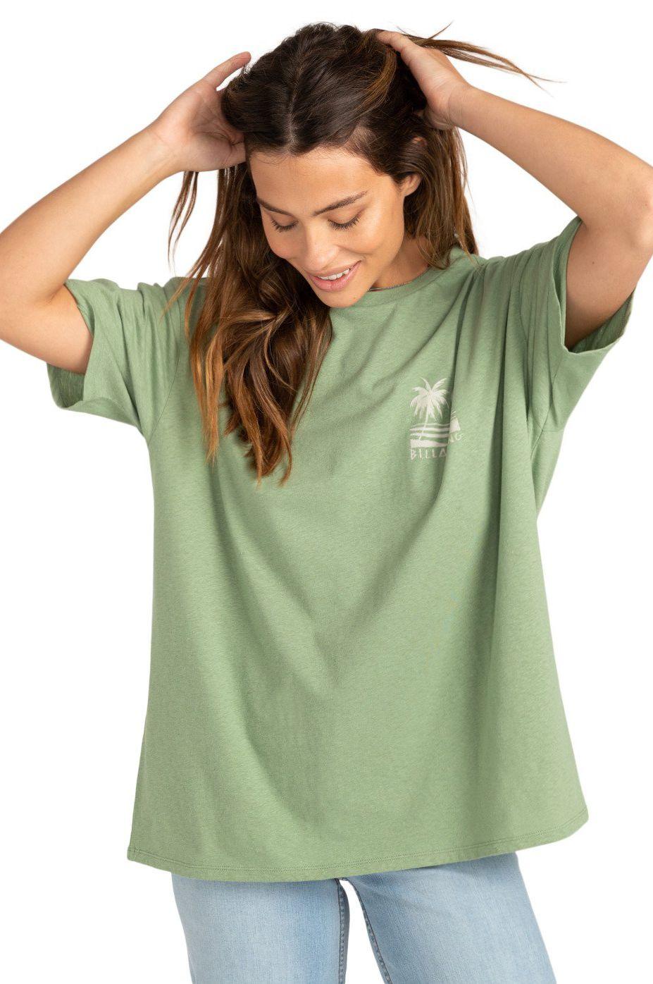Billabong T-Shirt LOCAL SPOT Safari Green
