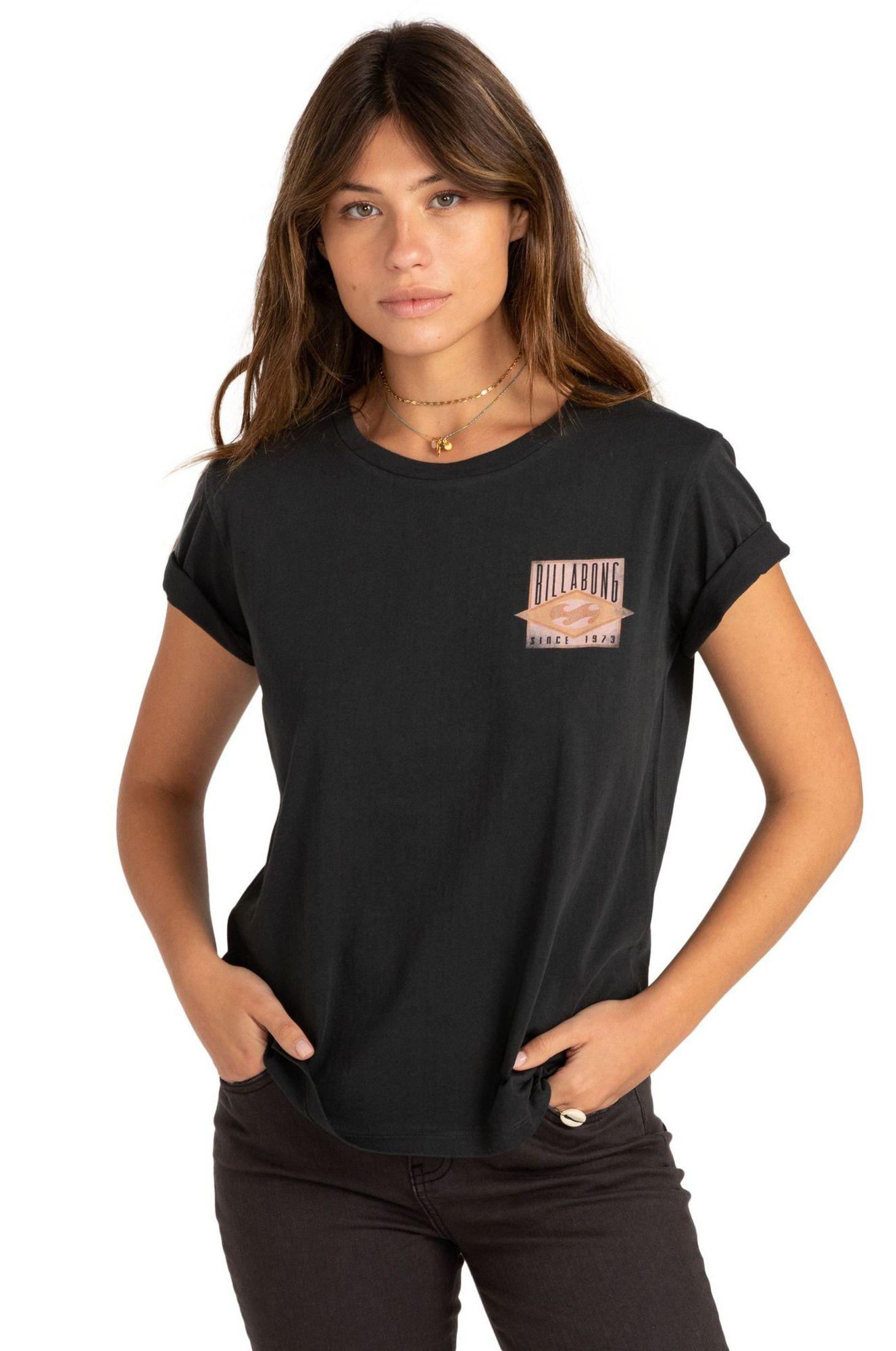 T-Shirt Billabong DIAMOND LEGACY Off Black