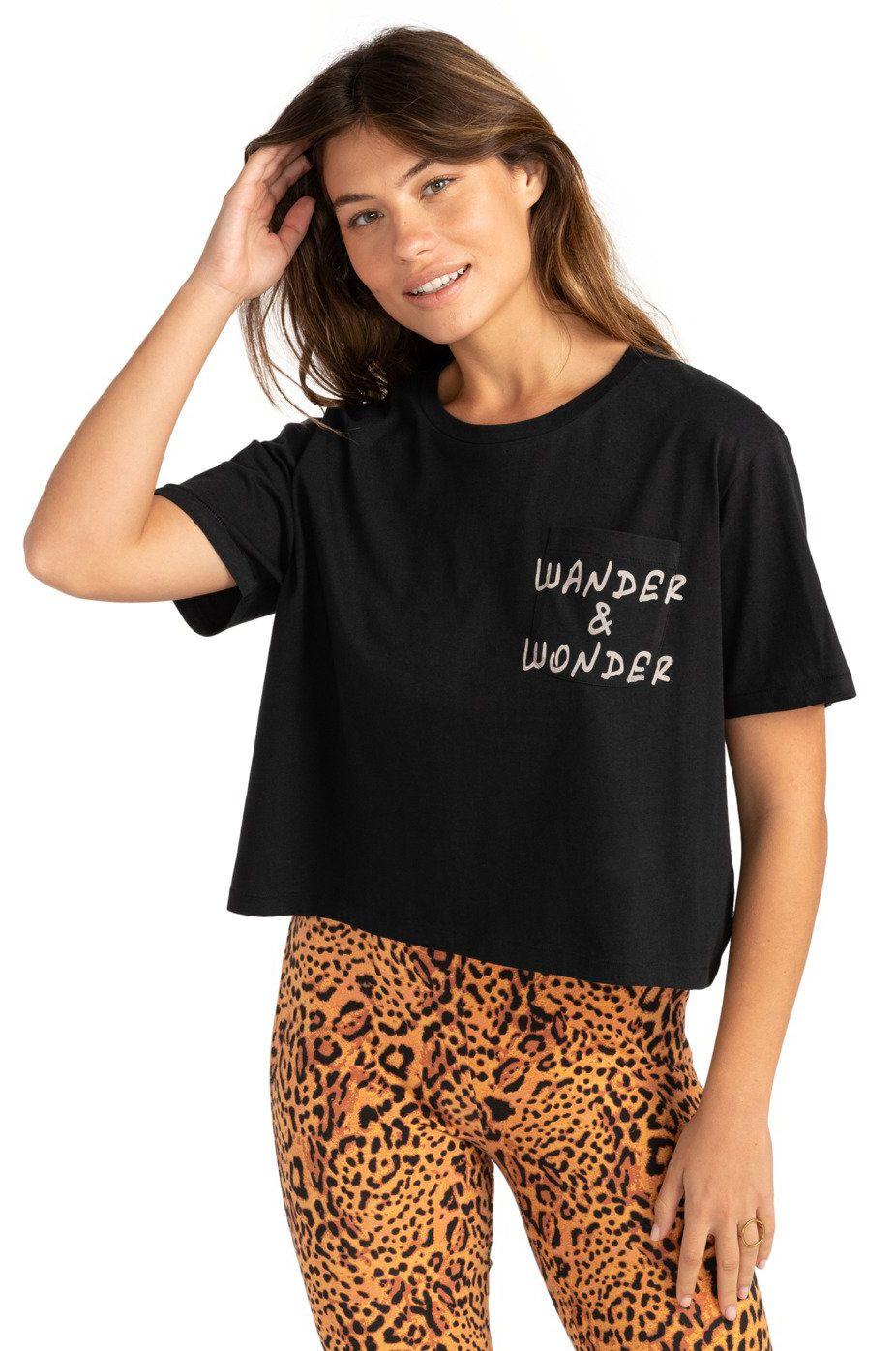 T-Shirt Billabong WANDER AND WONDER Black