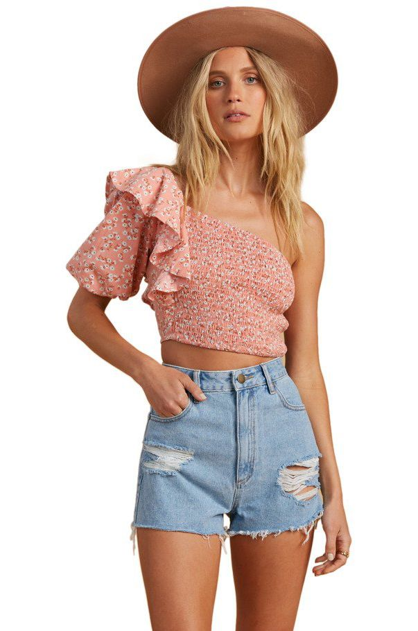 Top Billabong SHINE ON SALTY BLONDE Peach Out