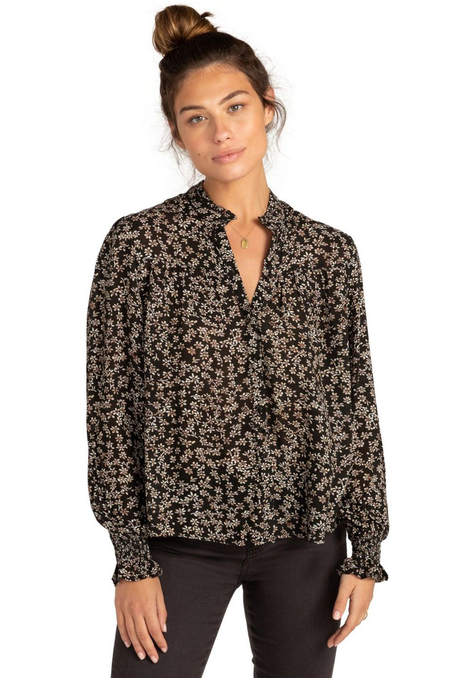 Billabong Top BY NIGHT PARADISE FOUND Flowers