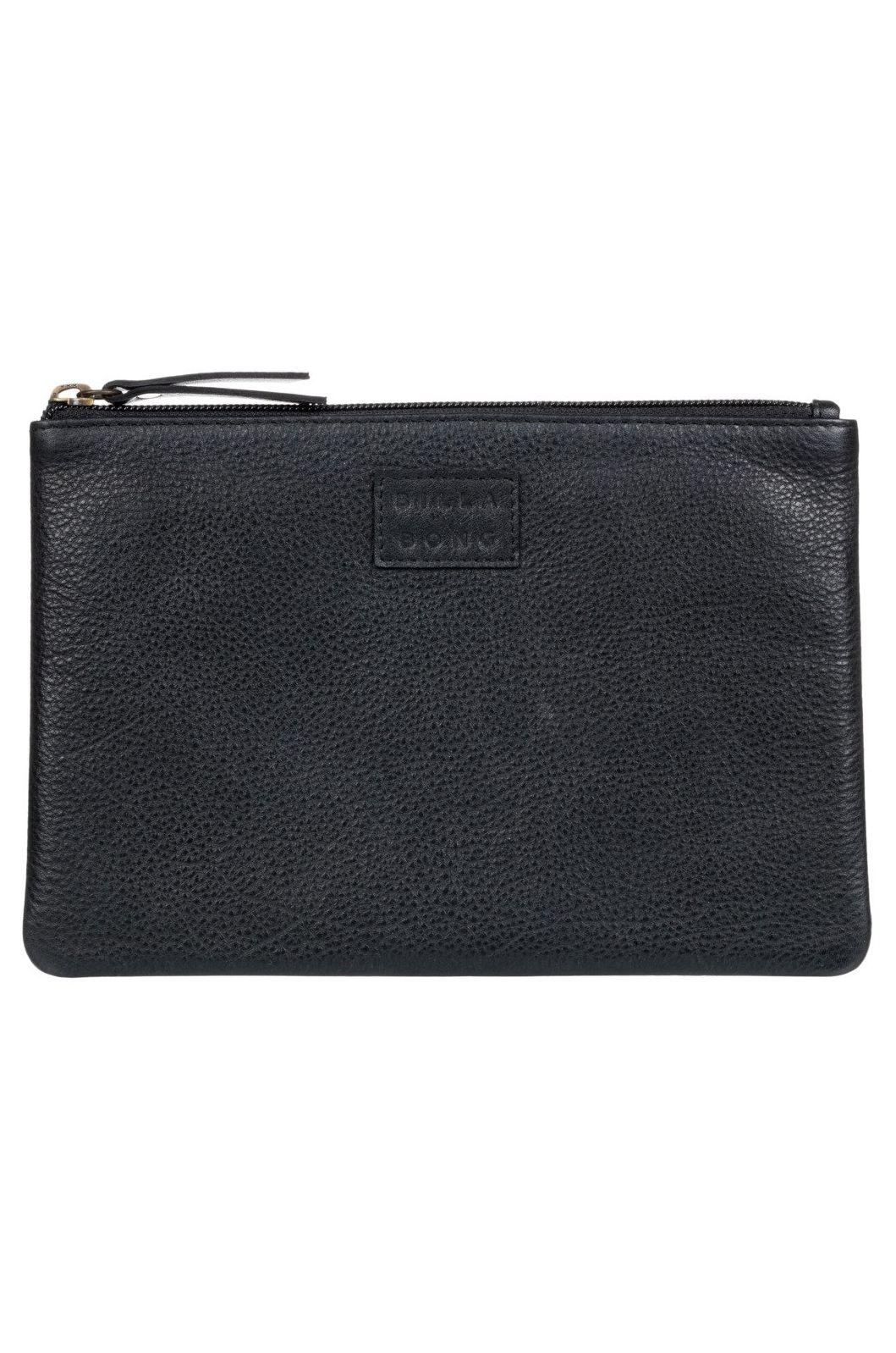 Billabong Leather Wallet LEATHER WALLET Black