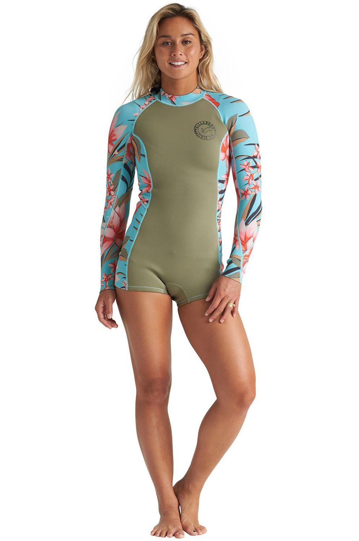 Billabong Wetsuit SPRING FEVER SURF CAPSULE Aloe 2mm