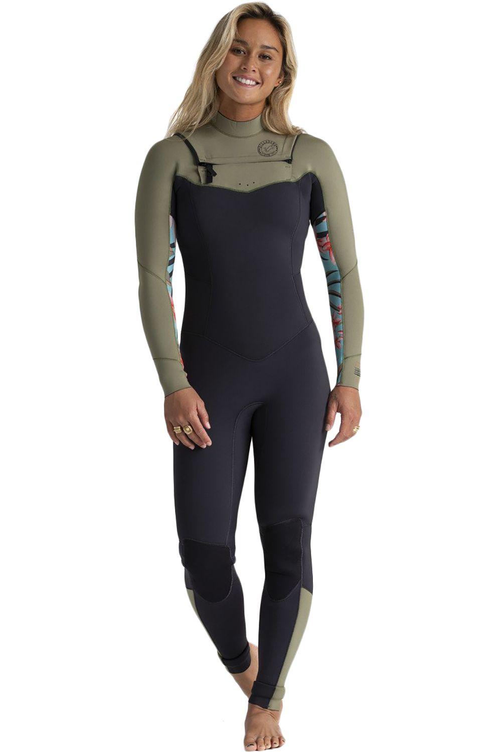 Billabong Wetsuit SALTY DAYZ FULL 302 SURF CAPSULE Aloe 3x2mm