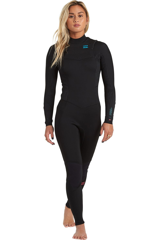 Billabong Wetsuit 403 SYNERGY CZ GBS Black 4x3mm