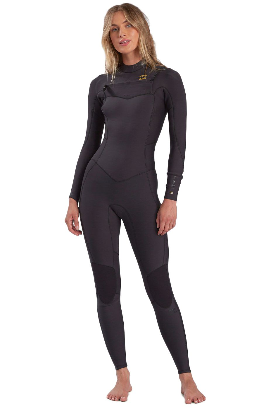 Billabong Wetsuit 403 SYNERGY CZ GBS F Black Tropic Indefinido