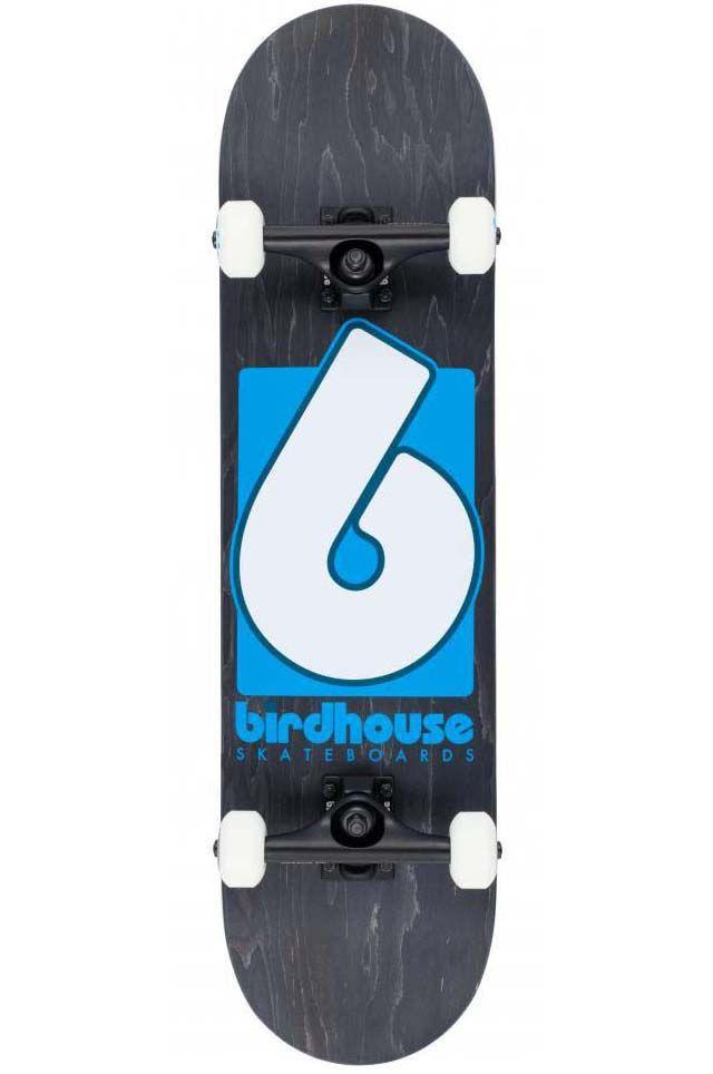 Skate Birdhouse B LOGO Black