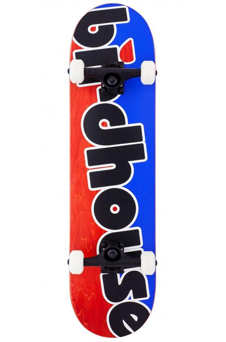 "Street Skate Birdhouse 8"" TOY LOGO Blue/Red"