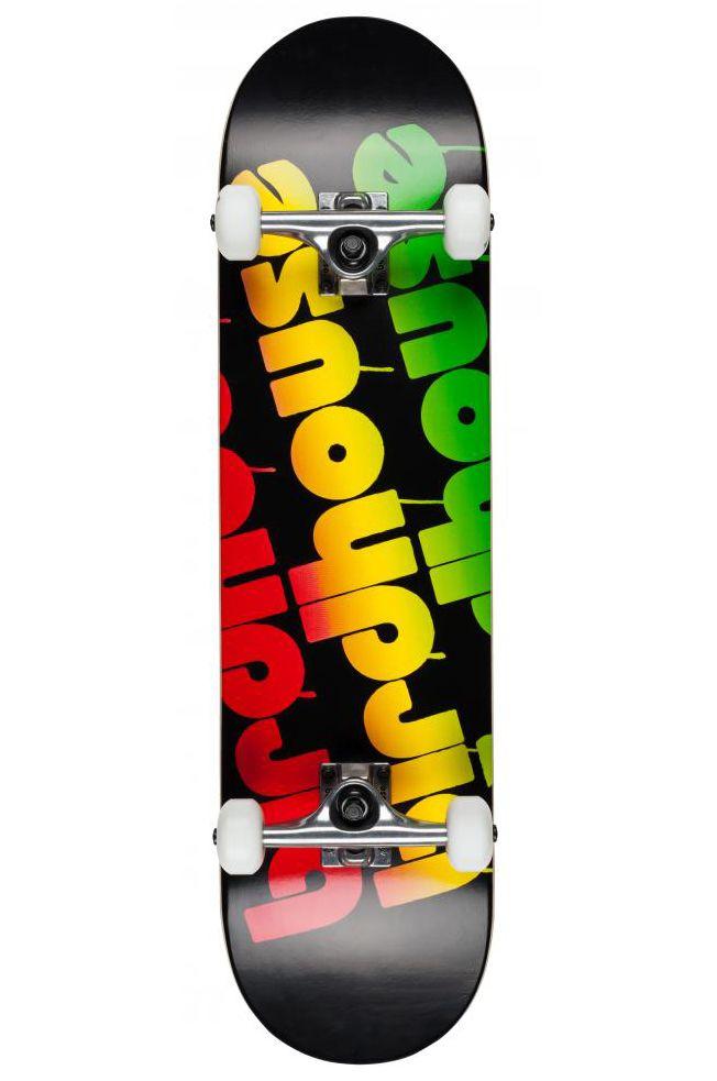 """Street Skate Birdhouse 8"""" TRIPLE STACK Rasta"""