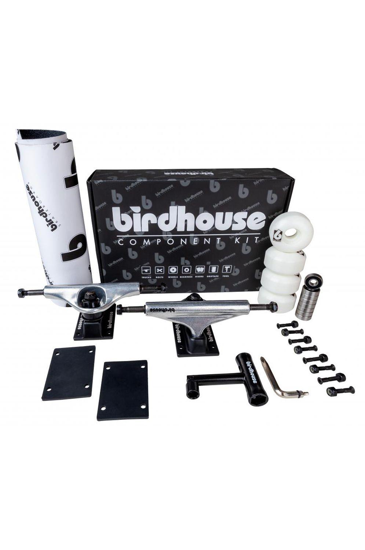 "Birdhouse Skate Trucks 5.25"" COMPONENT KIT Silver/Black"