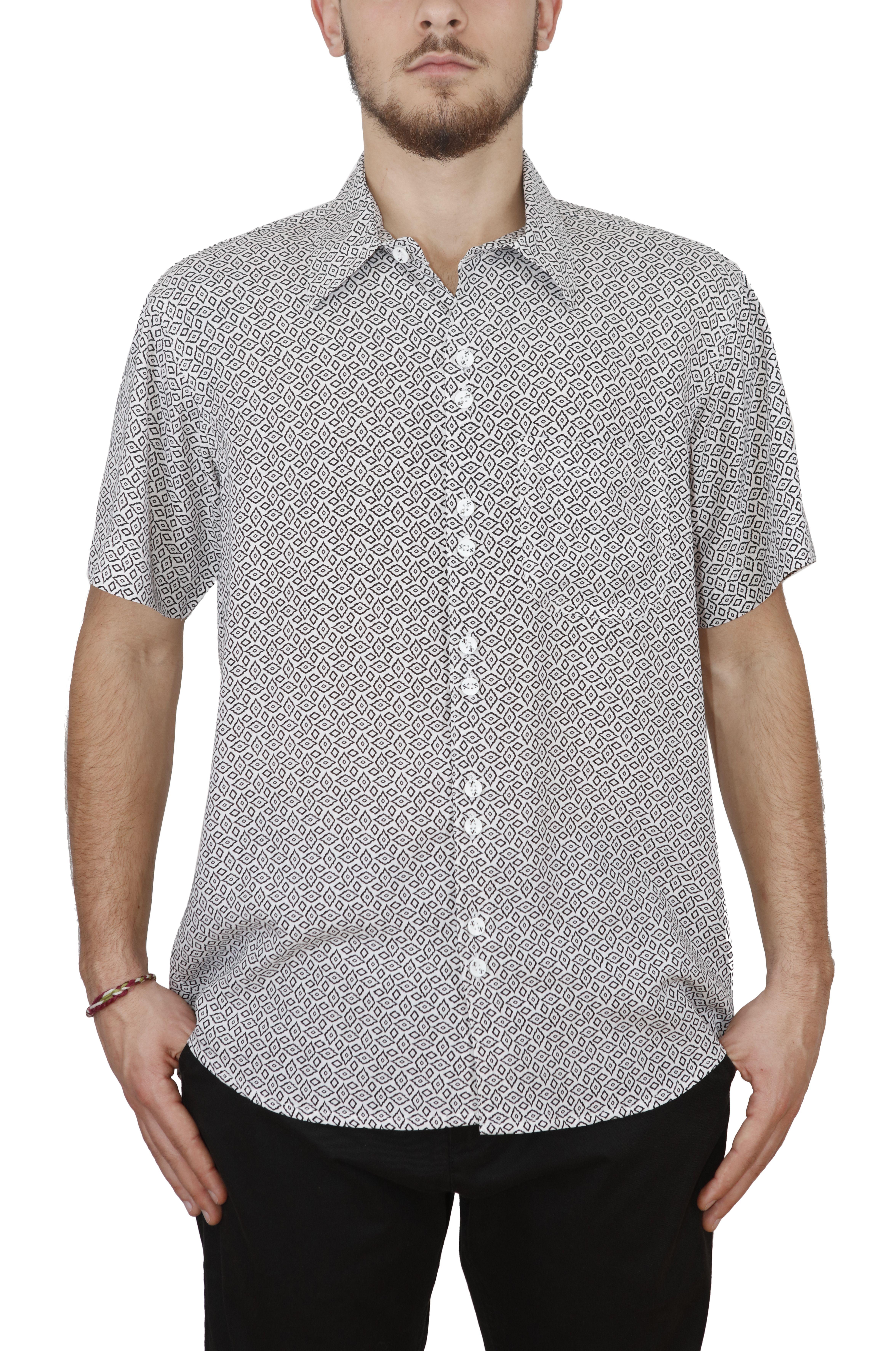 Black Mamba Shirt SAGU White/Black