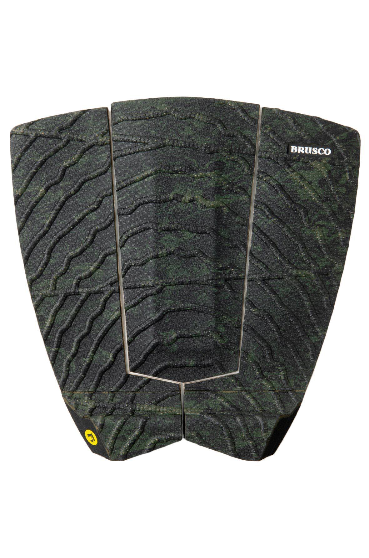 Deck Brusco TAILPAD RUGGED GRIP SEAWEED 3PCS Green/Black