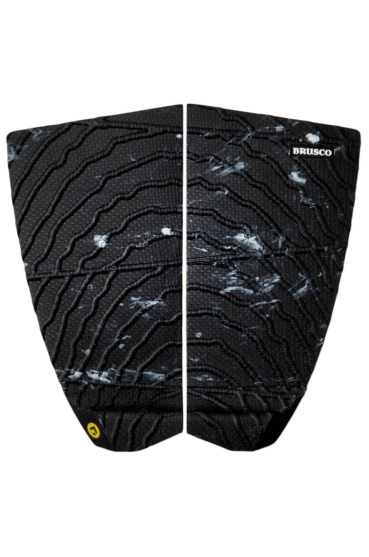 Deck Brusco TAILPAD RUGGED GRIP LIMESTONE 2PCS Black/White