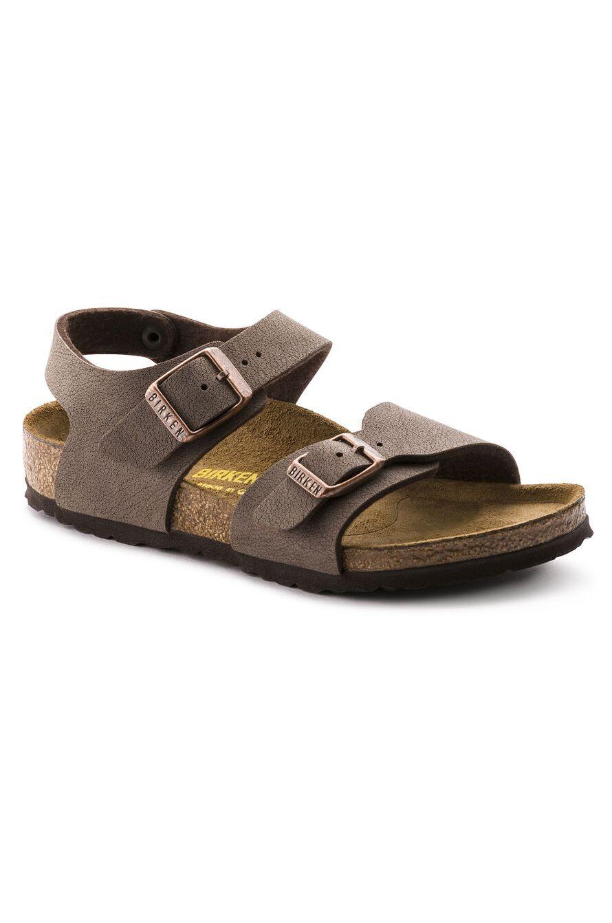 Birkenstock Sandals NEW YORK KIDS BFBC NARROW Mocha