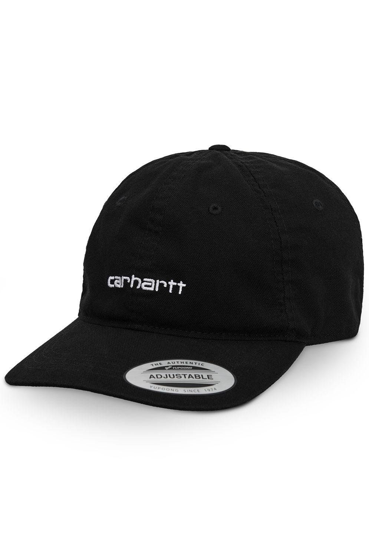 Carhartt WIP Cap   CANVAS COACH CAP Black/White