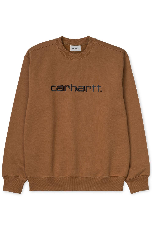 Carhartt WIP Crew Sweat CARHARTT SWEATSHIRT Hamilton Brown/Black