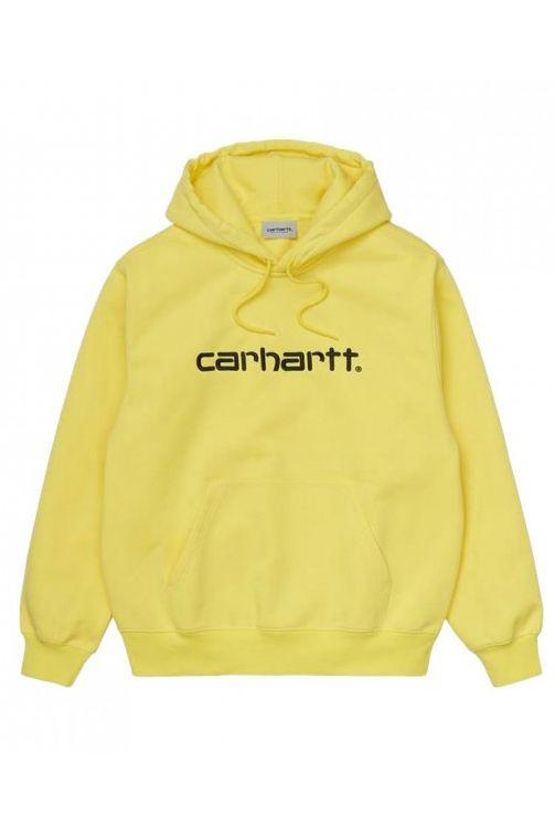 Carhartt WIP Sweat Hood HOODED CARHARTT SWEATSHIRT Limoncello/Black