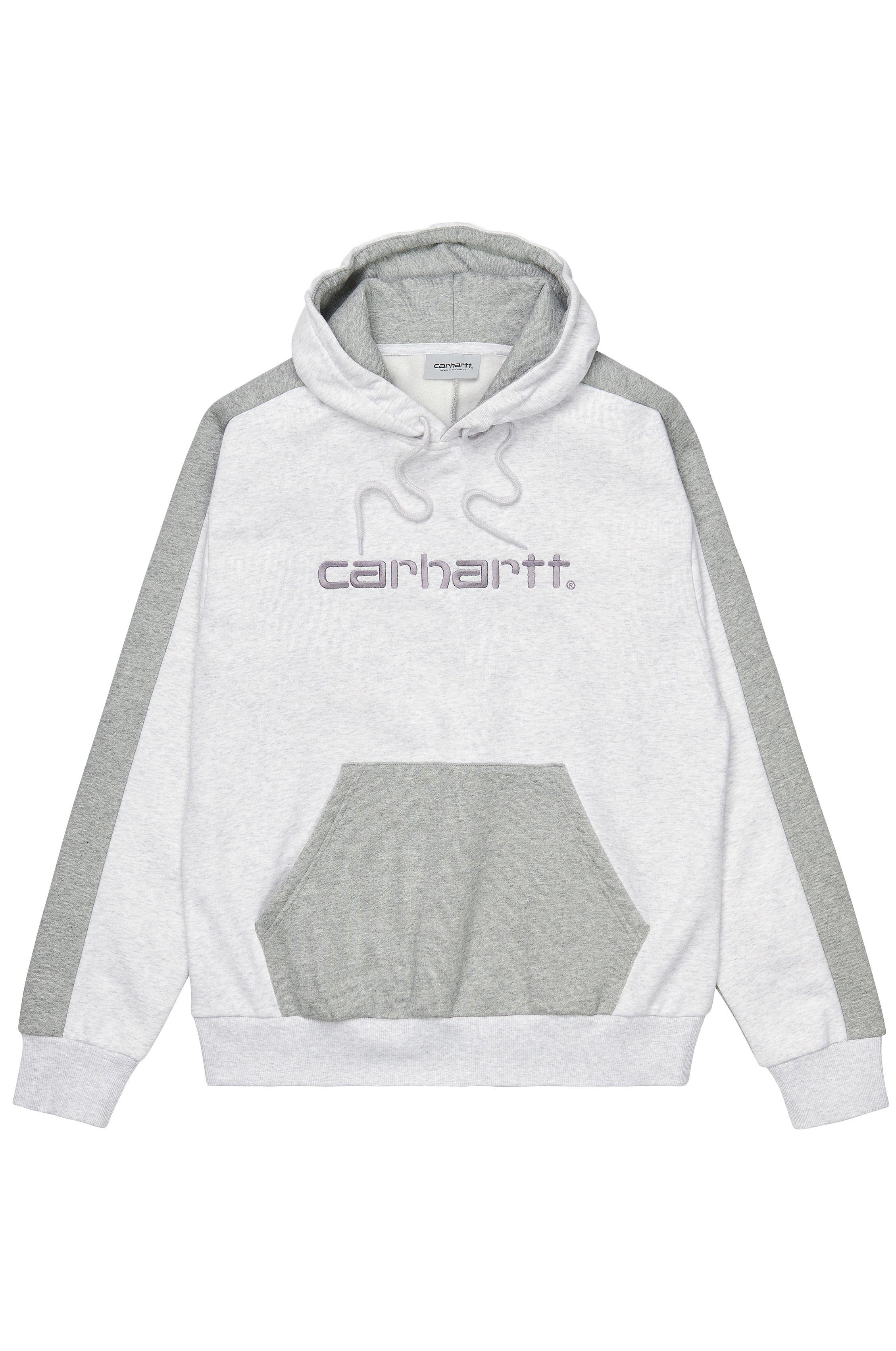Sweat Capuz Carhartt WIP TONARE Ash Heather/Grey Heather/Shiver