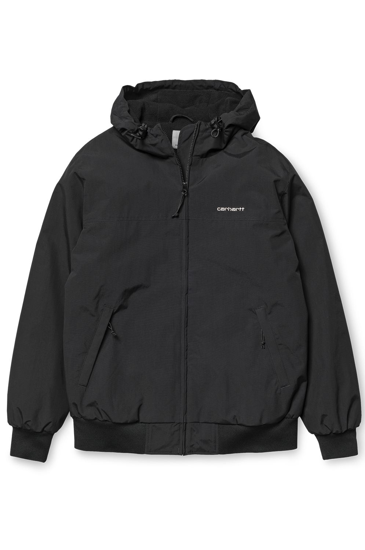 Carhartt WIP Jacket HOODED SAIL JACKET Black/White