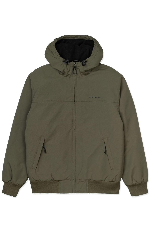 Carhartt WIP Jacket HOODED SAIL JACKET Cypress/Black