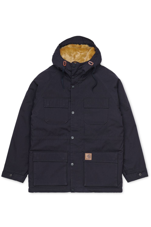 Carhartt WIP Jacket MENTLEY JACKET Dark Navy