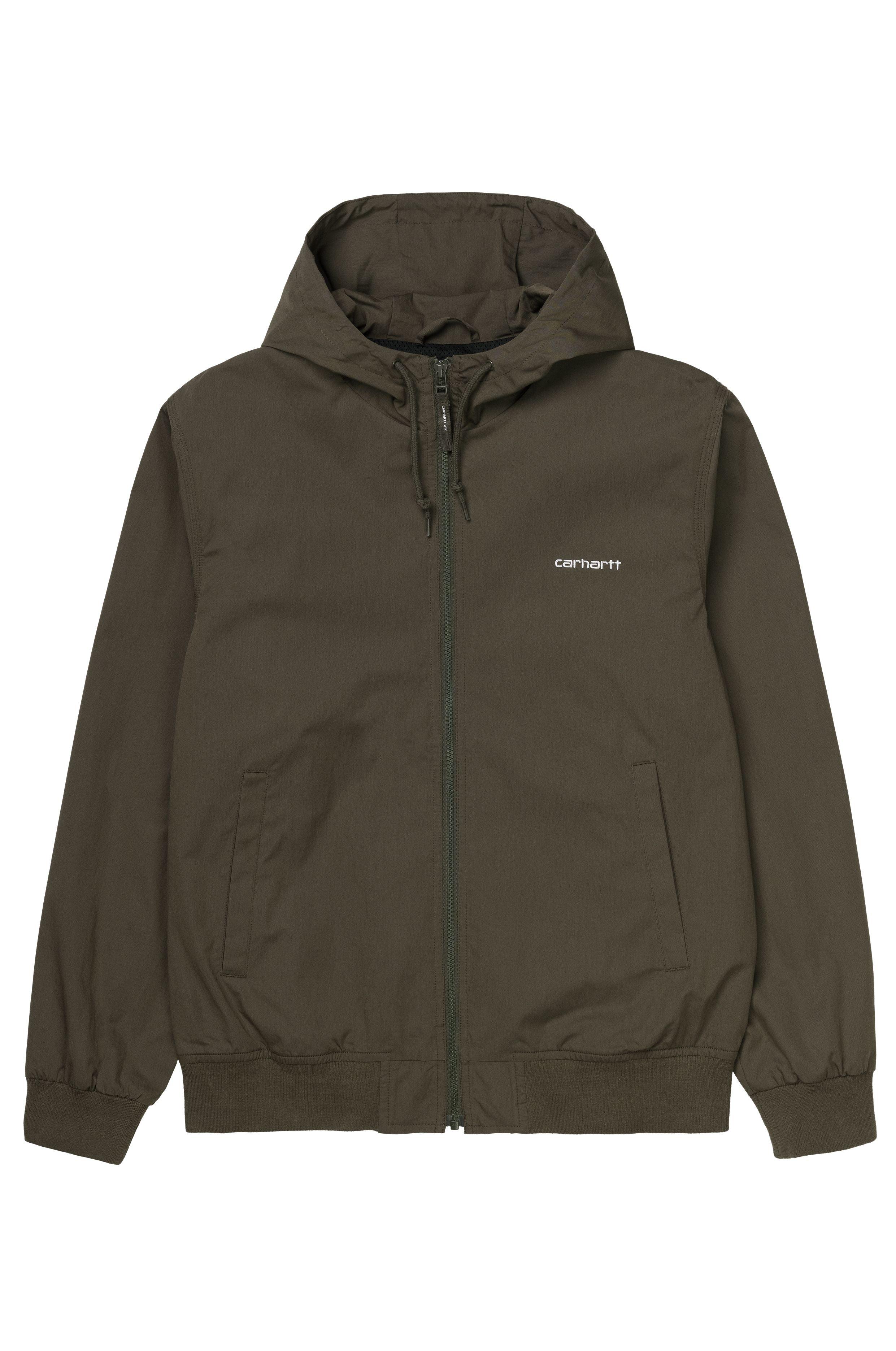 Carhartt WIP Jacket MARSH JACKET Cypress/White