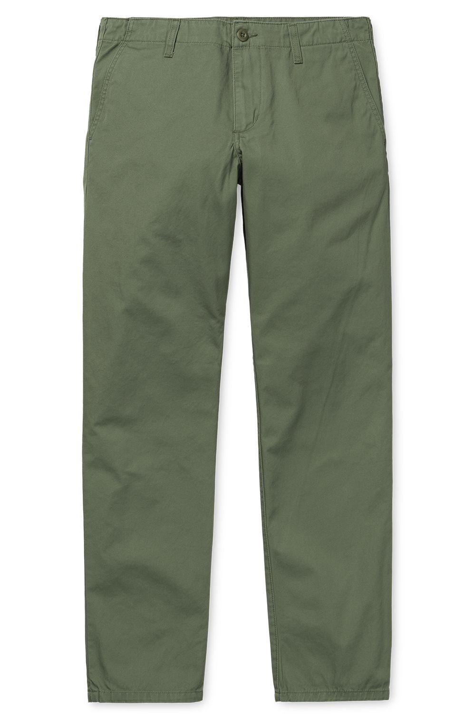 Carhartt WIP Pants CLUB Dollar Green Rinsed