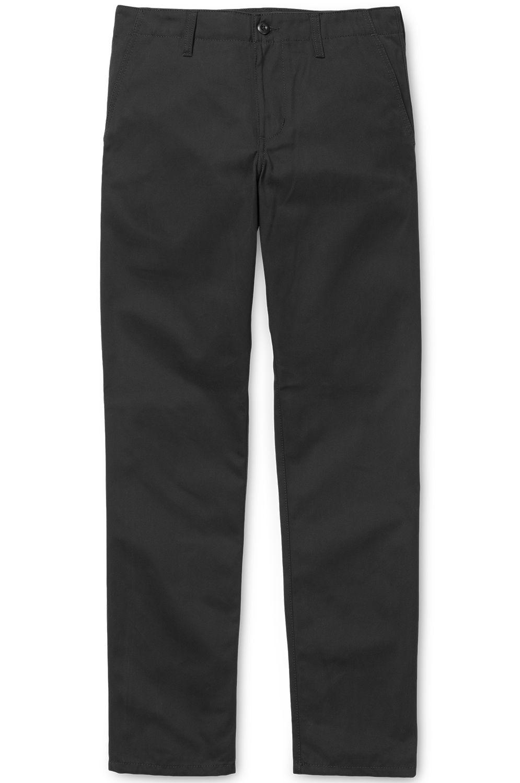 Carhartt WIP Pants CLUB Black Rigid
