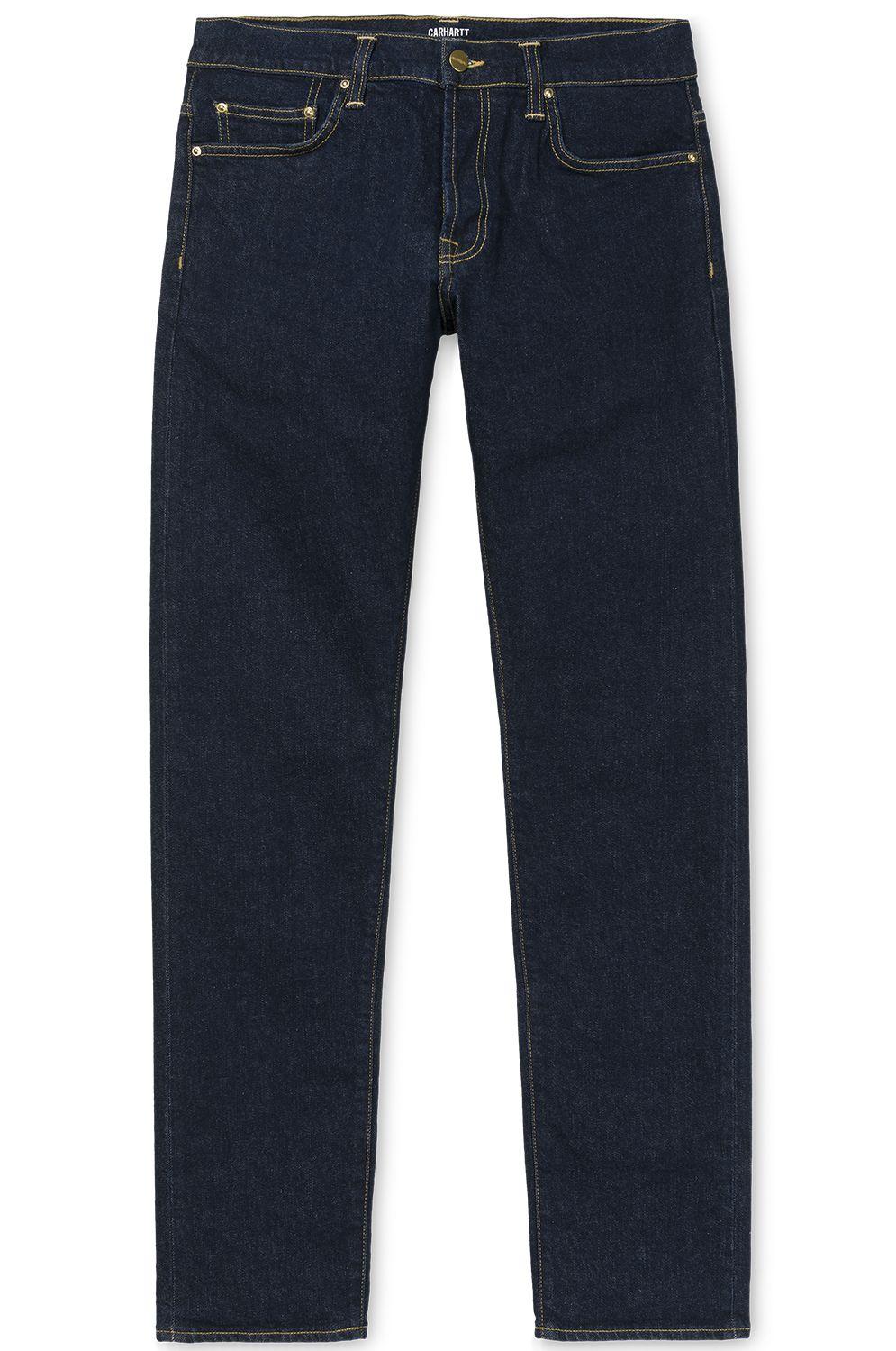 Carhartt WIP Pant Jeans KLONDIKE Blue Rinsed