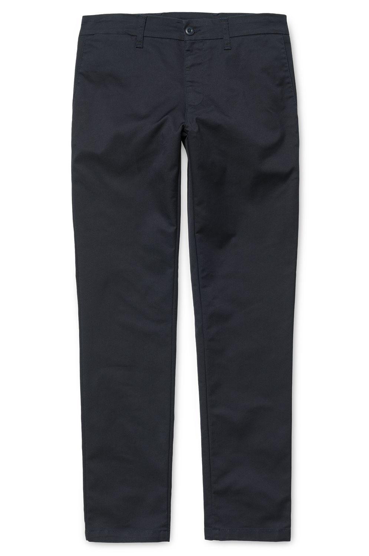 Carhartt WIP Pants SID Dark Navy Rinsed